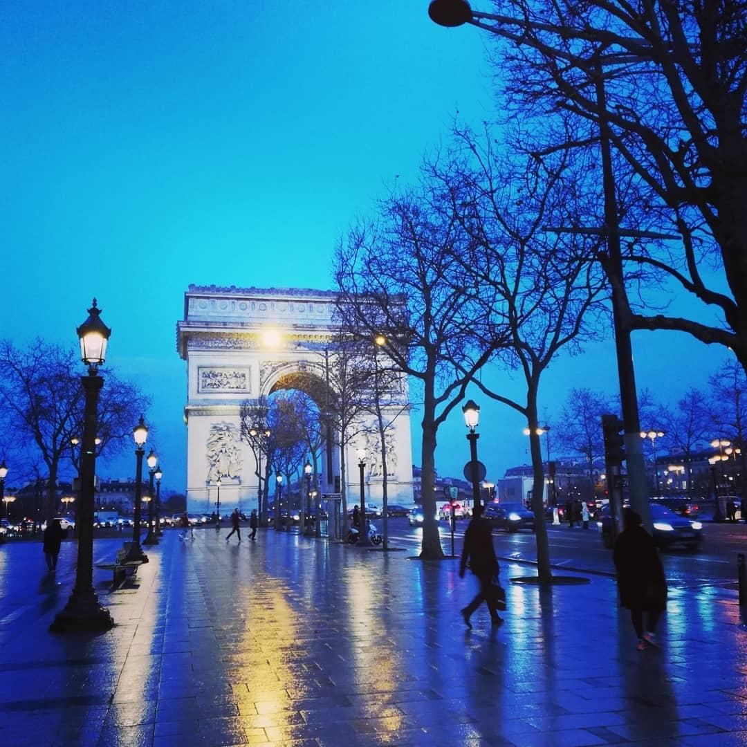 Как Париж дышит