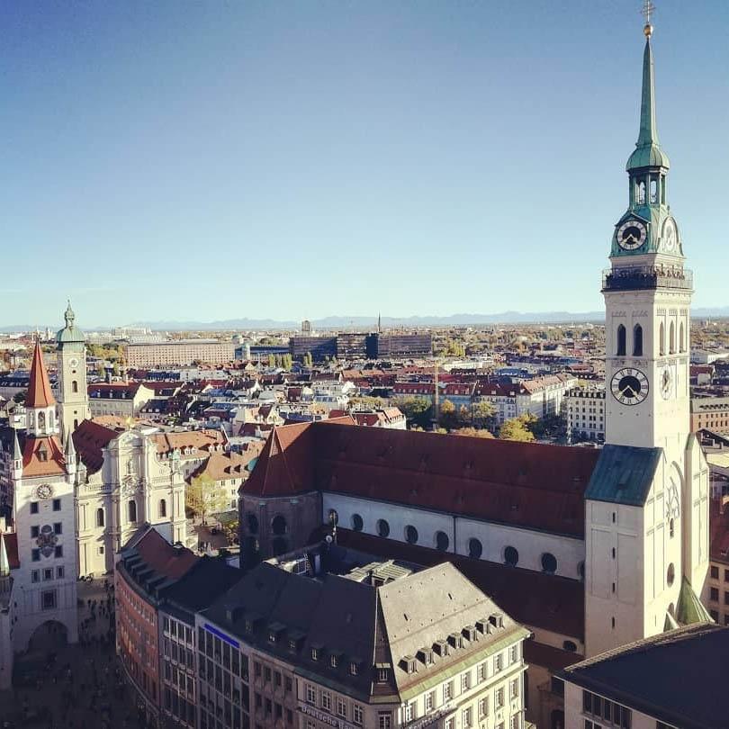 Мюнхен днем